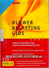 Kluwer Belastinggids 2003
