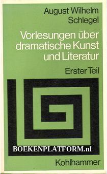 Vorlesungen uber dramatische Kunst und Literatuur