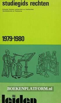 Studiegids rechten 1979-1980