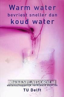 Warm water bevriest sneller dan koud water
