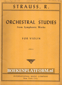 Orchestral Studies from Symphonic Works