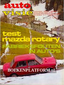 Autovisie 1970 Complete jaargang