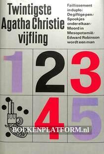 Twintigste Agatha Christie vijfling