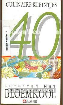 40 recepten met bloemkool