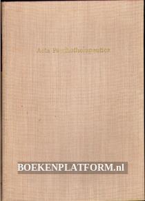 Acta Psychotherapeutica Vol. 1