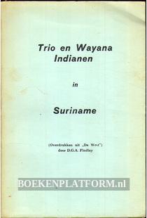 Trio en Wayana Indianen