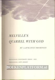 Melvilles's Quarrel With God