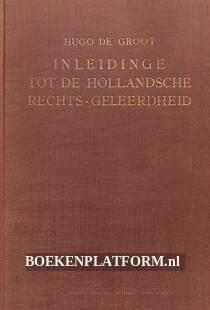 Inleidinge tot de Hollandsche rechts-geleerdheid