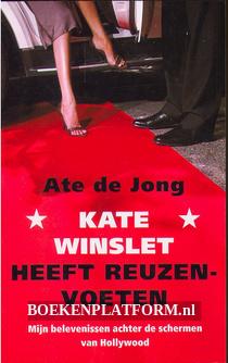 Kate Winslet heeft reuzenvoeten