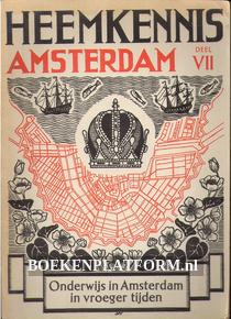 Onderwijs in Amsterdam in vroeger tijden