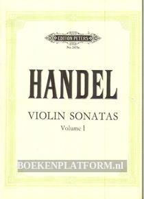 Handel Violin Sonatas Vol. 1