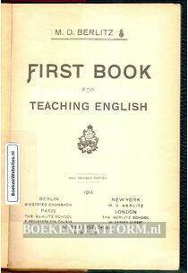 First Book for Teaching English
