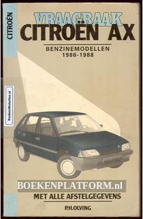 Citroen AX benzinemodellen 1986-1988 vraagbaak