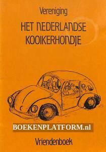 Het Nederlandse Kooikerhondje, vriendenboek