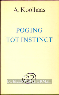 Poging tot instinct
