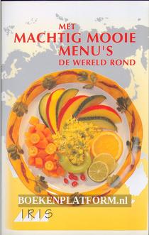 Met machtig mooie menu's de wereld rond