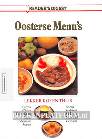 Oosterse Menu's