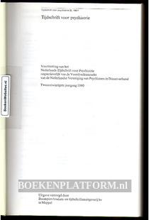 Tijdschrift voor Psychiatry 1980