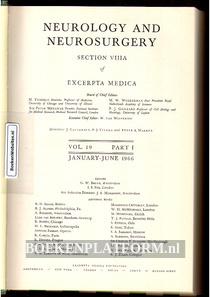 Neurology and Neurosurgery 1966