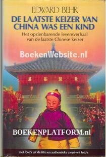 De laatste keizer van China was een kind