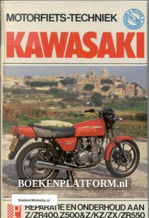 Motorfiets techniek Kawasaki Z/ZR400,Z500 & Z/KZ/ZX/ZR550