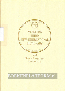 Webster's Third New International Dictionary **
