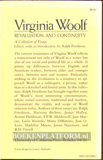 Virginia Woolf, Revaluation and Continuity