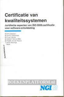 Certificatie van kwaliteits systemen ISO 9000