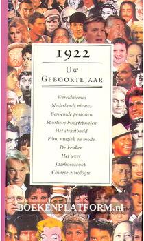 1922 Uw geboortejaar