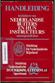 Nederlandse ruiters en hun instructeurs
