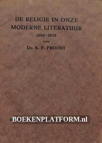 De religie in onze moderne literatuur 1880-1920