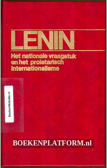 Het nationale vraagstuk en het proletarisch internationalisme