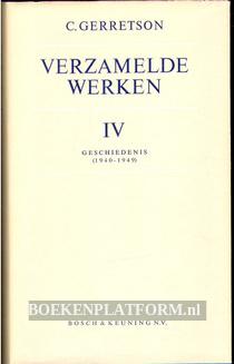 Verzamelde werken IV C