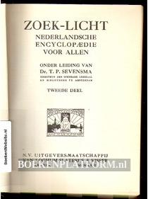 Zoek-licht Nederlandsche encyclopaedie voor Allen 2