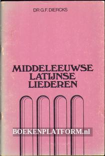 Middeleeuwse Latijnse liederen