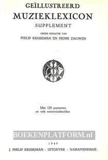 Geillustreerde muzieklexicon, supplement