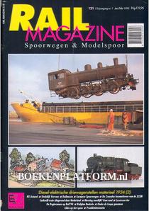 Rail Magazine, Spoorwegen en Modelspoor jaargang 1995