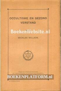 Occultisme en gezond verstand