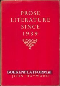 Prose Literature since 1939
