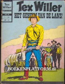 Tex Willer, het geheim van de lans!