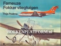 Fameuze Fokker vliegtuigen