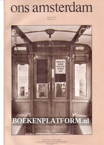 Ons Amsterdam 1982 Ingebonden met originele band