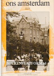 Ons Amsterdam 1986 Ingebonden met orginele band