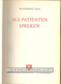 Als patienten spreken