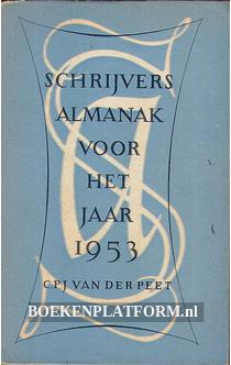 Schrijvers almanak voor het jaar 1953