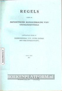 Regels voor de Alfabetische Rangschikking van Catalogustitels