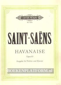 Havanaise für Violine und Orchester