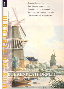 Ons Amsterdam 1989 Ingebonden met orginele band