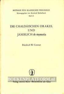 Die Chaldaïschen Orakel und Jamblich de mysteriis