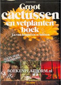 Groot cactussen en vetplantenboek